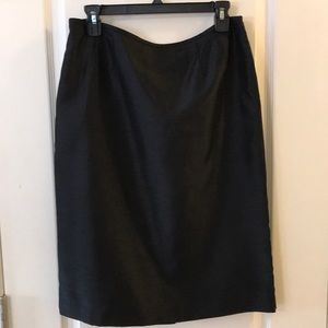 Suit Studio Sateen Fully Lined Skirt Size 10